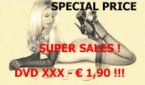Super Discount ! - DVD € 1,90 !!
